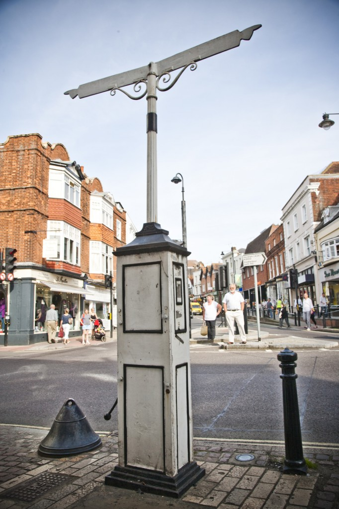 Dorking Pump Corner - Picture by Paul Knivett